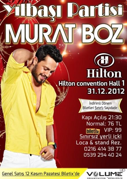 Murat Boz ile Yılbaşı Partisi – Hilton Convention Hall 1'de