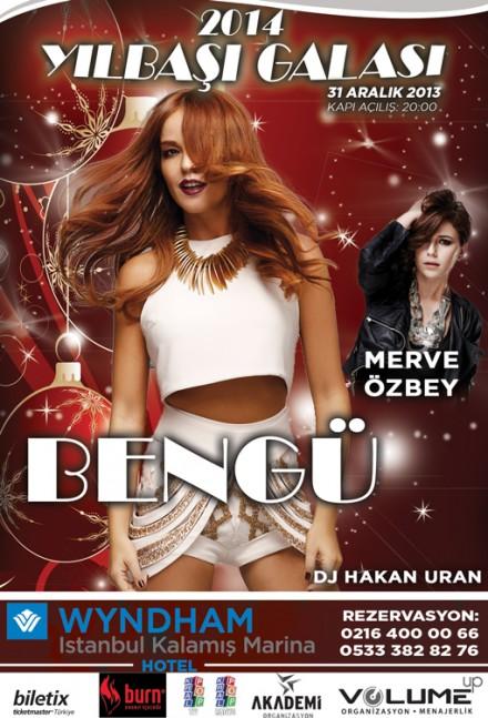 Bengü & Merve Özbey 2014 Yılbaşı Galası