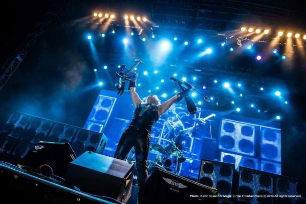 Dünyaca ünlü heavy metal grubu Manowar, 24 Mayıs'ta KüçükÇiftlik Park'ta sevenleriyle buluştu.