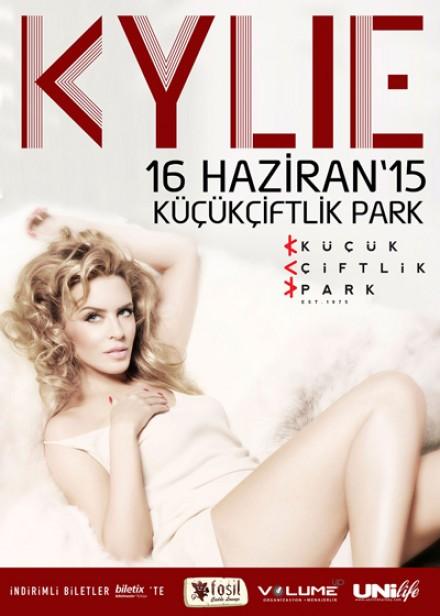Kylie Minogue, 16 Haziran akşamı hayranlarıyla buluşmak üzere KüçükÇiftlik Park'ta.