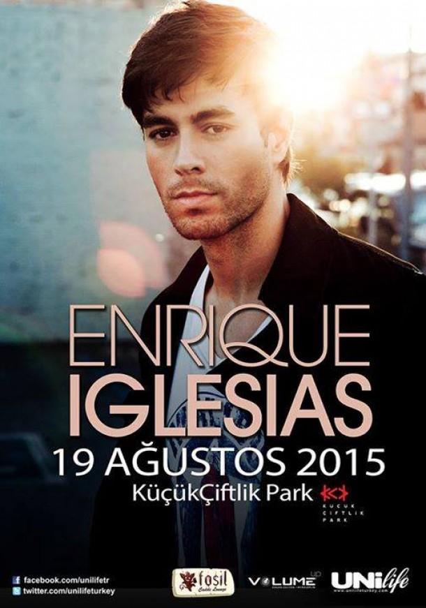 Enrique Iglesias Sex&Love turnesi kapsamında 19 Ağustos'ta KüçükÇiftlik Park'ta!
