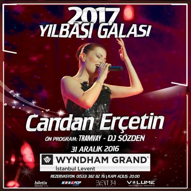 Candan Erçetin 2017 Yılbaşı Galası